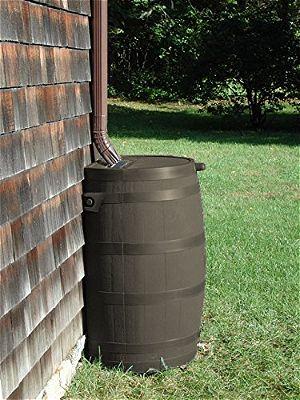 RTS Brown Rain Barrel