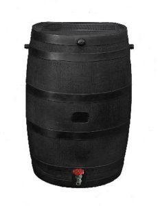 RTS Home Accents Black Eco Barrel