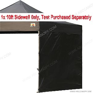 AbcCanopy Sun Wall for 10 x 10 straight leg pop up canopy Tent