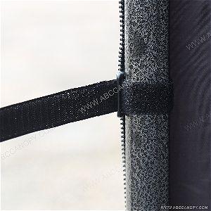 AbcCanopy Velcro tie and Zipper Edge