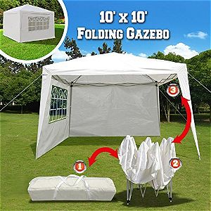 BenefitUSA 10x10 Folding Gazebo