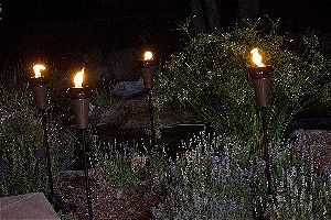 Island King Metal Tiki Torches