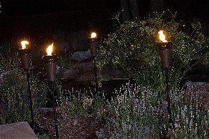 Island King Metal Tiki Torches