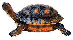 Large Resin Garden Turtle Figurine