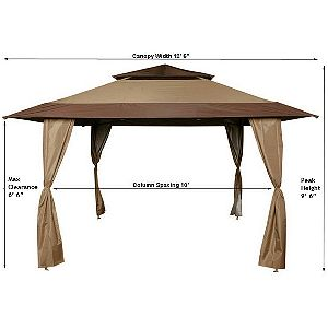 Z-Shade Dimensions  sc 1 st  OutsideModern & Best Pop Up Gazebo. Canopy Tent Reviews - OutsideModern