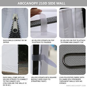 AbcCanopy Side Wall Information