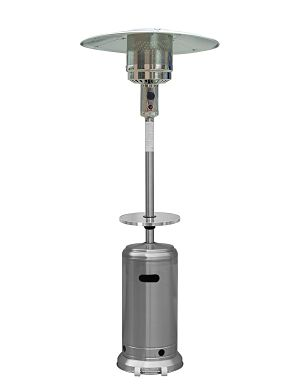 AZ Patio Heaters HLDS01-WCGT Stainless Steel Model
