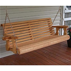 Cafe 5' Porch Swing, the Best Amish Porch Swings available