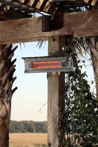 Fire Sense Indoor Outdoor Wall Mounted Patio Heater