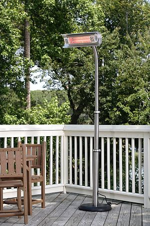 Fire Sense Telescoping Infrared Electric Patio Heater