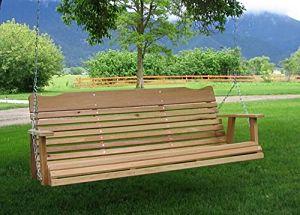 Kilmer Creek 5' Natural Cedar Amish Porch Swing