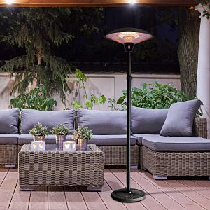 Outsunny Adjustable Electric Patio Heater in Context