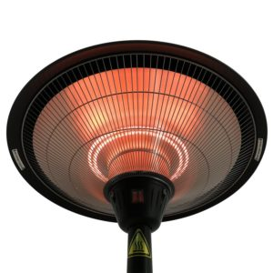 Outsunny Electric Patio Heater Top Detail