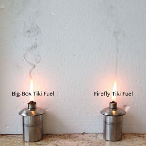 Torch Fuel Burn ComparisonTorch Fuel Burn Comparison