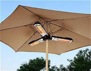 AZ Patio Heater Electric Umbrella Heater, the Best Umbrella Patio Heater Available