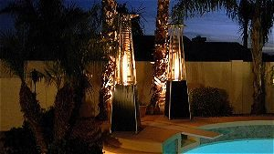 AZ Patio Heaters Pyramid Heaters in Action