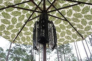 Fire Sense Infrared Umbrella Heater Closed
