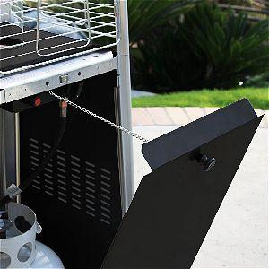 Garden Radiance Pyramid Heater Tank Storage