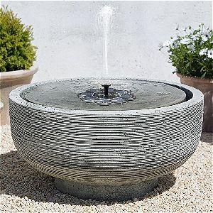 TekHome Solar Fountain in a Pot