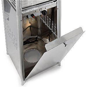 Thermo Tiki Pyramid Patio Heater Tank Storage Space
