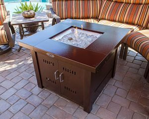 AZ Patio Heaters Propane Fire Pit
