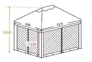 Abba Patio Soft Top Gazebo DimensionsAbba Patio Soft Top Gazebo Dimensions