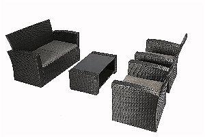 Baner Garden (N87) 4 Pieces Outdoor Furniture Patio Set