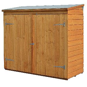 Bosmere Rowlinson WS1881H Wood Garbage Can Shed