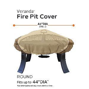 """Classic Accessories Veranda 44"""" Fire Pit Table Cover"""
