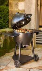 Char-Griller 16620 Akorn Kamado Kooker Charcoal Barbecue Grill and Smoker, Black