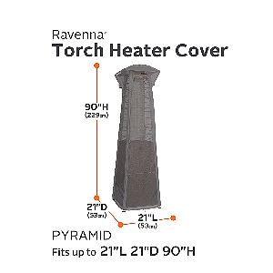 Classic Accessories Ravenna Pyramid Heater Cover Dimensions