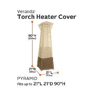 Classic Accessories Veranda Pyramid Heater Cover Dimensions