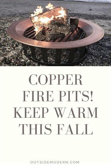 Copper Fire Pits