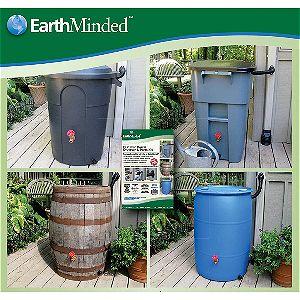 EarthMinded DIY Plastic Barrel Conversion