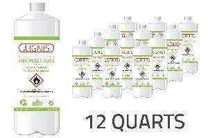 Ignis Bio Ethanol Fuel 12 Pack