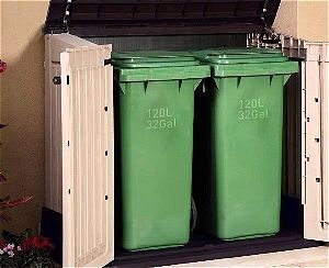 Keter Store It Out MIDI Trashcan Storage Shed