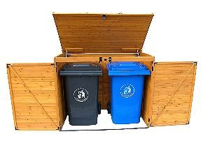 Leisure Season Garbage Can Shed