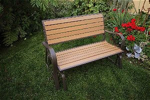 Lifetime 60055 Faux Wood Glider, the Best Patio Gliders around!