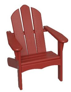 Little Colorado Red Kids Adirondack Chair