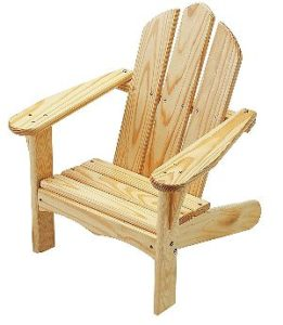 Little Colorado Unfinished Kids Adirondack Chairs