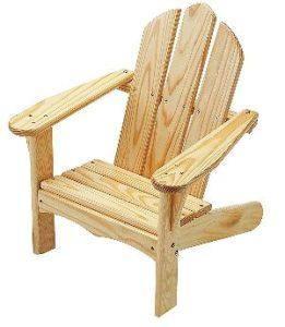 Little Colorado Unfinished Kids Adirondack Chairs