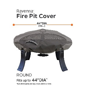"Classic Accessories Ravenna 44"" Round Fire Pit Cover"