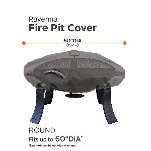 "Classic Accessories Ravenna 60"" Round Fire Pit Table Cover"