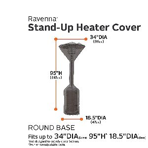 Ravenna Stand Up Heater Cover Dimensions