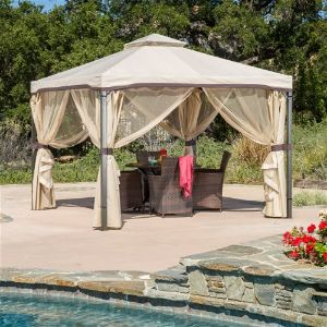 Sonoma Outdoor Iron Soft Top Gazebo