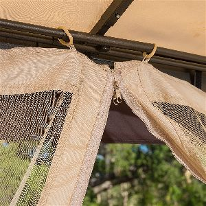 Sonoma Outdoor Mosquito Netting Zippers