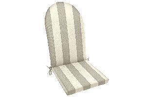 Sunbrella Solana Seagull Knife Edge Adirondack Chair Cushion by Easy Way Products