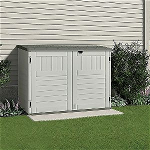 A Maintenance-free Suncast Storage Shed