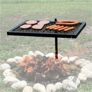 Texsport Swivel Grill, the Best Fire Pit Grates Available!
