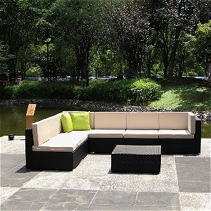 U-max Patio Sectional Furniture Set